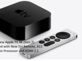 Apple TV 4K (Gen 2) with New Siri Remote