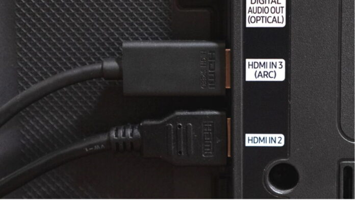 Connecting HDMI ARC to port